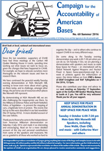 CAAB Newsletter Summer 2016