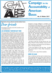 CAAB Newsletter Winter 2017
