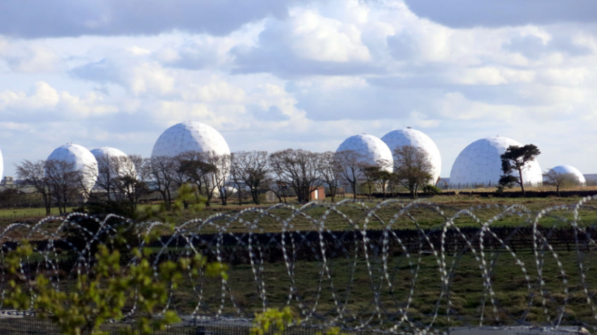 Menwith Hill Radomes in May 2016