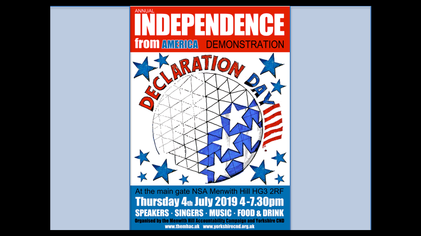 Independence from America Event 2019