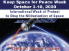 Do not weaponise space